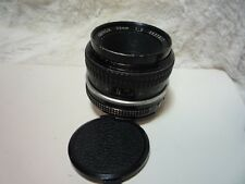 NIKON NIKKOR 50 mm f2 pré-AI/NON-AI mount Manual Focus Lens
