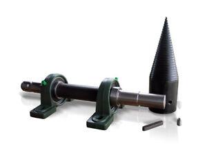 SCHNECKENSPALTER Holzspalter Kegelspalter Drillkegel Traktor Zapfwelle 80 mm
