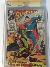 Superman 205 CGC 9.2 SIGNED BY  Neil Adams
