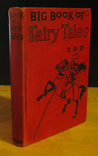 BIG BOOK OF FAIRY TALES (1925) CHARLES PERRAULT, RARE GUSTAVE DORE ILLUSTRATED