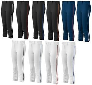 Mizuno Women's Fastpitch Softball Belted Piped Pant 350314