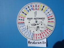 Pfaff 230, 232, 332 & 338 Automatik Musterscheibe - Schablone