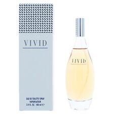 Vivid by Liz Claiborne 3.4 oz Eau De Toilette Spray for Women-New in Box