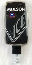 Molson Ice Beer Tap Handle Tapper Acrylic Plastic