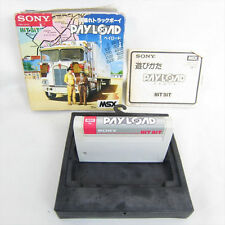 msx PAY LOAD Import Japan Video Game 0923 msx