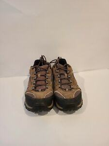 Merrell Mens Size 9.5 EU 42 Boulder Hiking Shoes Brown Black