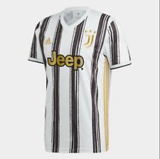 More details for juventus home 2020-21 white black gold stunning soccer jersey shirt