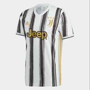 Juventus Home 2020-21 White Black Gold Stunning Soccer Jersey Shirt