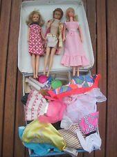 Alte Barbie-Francie-Sweet Sixteen mit Kleidung & Koffer Japan rare-vintage