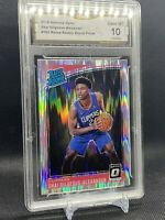 2018 Panini Optic Shock Shai Gilgeous-Alexander RC Rookie Card GMA 10 PSA? 🔥🔥
