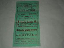 CINEMA ANDREANI TEATRO-MERCOLEDI 6 GENNAIO 1932-DINO LUGETTI-TINA WERTER-WANDO