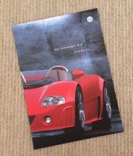 Volkswagen W12 Roadster Concept Brochure - 1998 - German