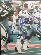 Emmitt Smith Autograph/Signed 8x10 Action Photo