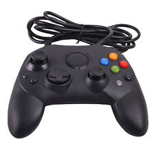 Wired Game Controller GamePad Joypad Joystick S TYPE for Microsoft XBOX Black