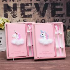 Flamingo Unicorn Pink Notebook with Pen diary Birthday christmas Party Best gift
