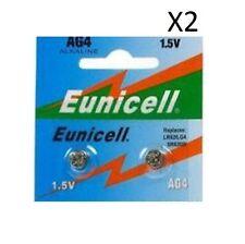 EUNICELL 4 Pilas AG4 LR626 LR626SW 377A SR 626 SR377 G4