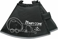 All Four Paws Comfy Cone Soft Recovery E-Collar for Dogs & Cats Black - Small