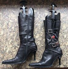 Synthetic Leather Pull on Boots NEXT for Women