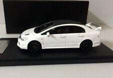 Rare!! Mugen RR Honda Civic TYPE-R 1/43 Scale Resin Model Car White