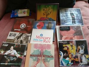 """JOB LOT 10 """"INDIE""""CD SINGLES AND PROMOS..."""