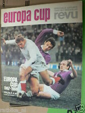 1967-68 EUROPA CUP VOETBAL,SOCCER,FOOTBALL,JUVENTUS,CELTIC,KIDD,KINDVALL,CRUYFF,