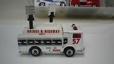Loose Matchbox White Bridge & Highway Mack Auxiliary Power Truck