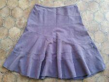 Womens ~ DKNY JEANS SKIRT ~ Light purple cord skirt ~ Size 12