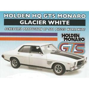 1/18 HOLDEN HQ GTS MONARO GLACIER WHITE CLASSIC COLLECTABLES NEW IN BOX 18721