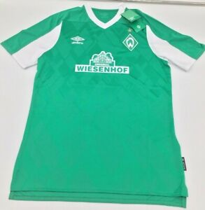 Werder Bremen Home Jersey Umbro Mens Green 2020/2021 M-L-XL New with Tags
