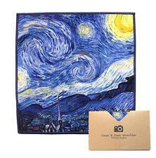"LARGE[6 Pack](Gogh ""Starry Night"") - ULTRA PREMIUM QUALITY Microfiber Cloths"