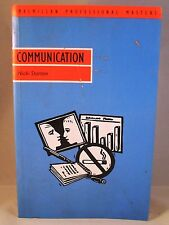 Communication Nicki Stanton (Professional Master) Free P&P, eBay global shipping