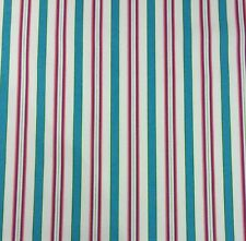 "WAVERLY GENERAL STORE CANCUN TICKING STRIPE CUSHION FABRIC BY THE YARD 54""W"