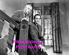 BASIL RATHBONE & NIGEL BRUCE 8x10 Lab Photo SHERLOCK HOLMES & DR. WATSON '39-'46