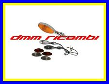 2 Frecce MOTO Cromate sportive universali freccia tuning piccole custom no led