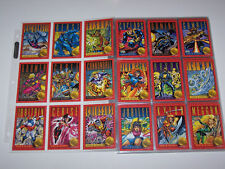 Marvel X-Men Series II  Set With Holograms and 30th Anniversary Inserts