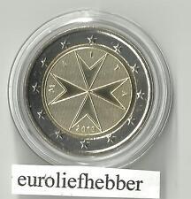 Malta               2 Euro  2010  UNC    in Muntcapsule  IN STOCK / OP VOORRAAD