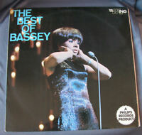 """LP 12"""" 33 rpm The Best Of SHIRLEY BASSEY - Philips1959"""