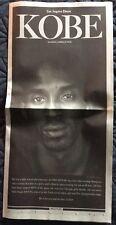 KOBE BRYANT LA L A LOS ANGELES TIMES APRIL 2016 NEWSPAPER TRIBUTE SECTION