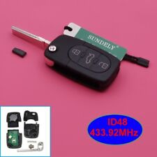 Remote Transmitter Key Fob 3 Button 433.92MHz for Audi A3 A4 A6 A8 4D0 837 231 A