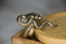 Covetous Gold Serpent Ring / Greedy snake ring / Dark Fantasy Jewelry