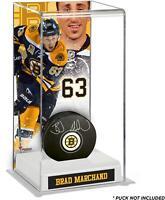 Brad Marchand Boston Bruins Deluxe Tall Hockey Puck Case - Fanatics