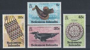 SOLOMON ISLANDS 1979 Native Artefacts Set LMM