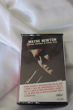 VTG RARE Backward Playing Cassette Tape Wayne Newton Capitol Records Factory Err