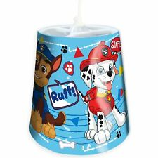 OFFICIAL PAW PATROL RUFF TAPERED CEILING LIGHT LAMP SHADE KIDS BOYS
