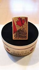 Zippo Canada Canadian Collectible 2001 COTY 2001
