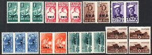 South West Africa 1943-4 Bantam War Effort set, both 1s, SG.123/30, mint, c.£38