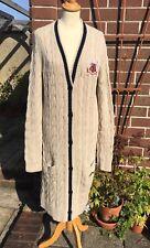 * TOMMY HILFIGER * signature laine bustier Confort Cardigan Coatigan robe XL Nouveau