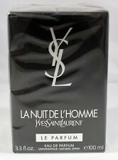 La Nuit De L'Homme Le Parfum by Yves Saint Laurent 3.3 Oz EDP Spray For Men NEW
