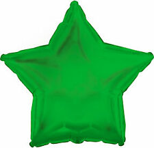 Balloon Foil - Star Metallic Green