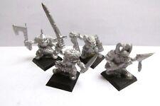 Fuera de imprenta Warhammer/Marauder miniaturas Citadel/caos MM27 Negro Gigante Orcos